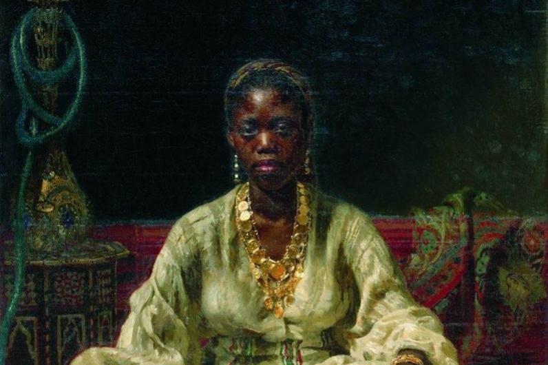 Ilya Efimovich Repin. Black woman