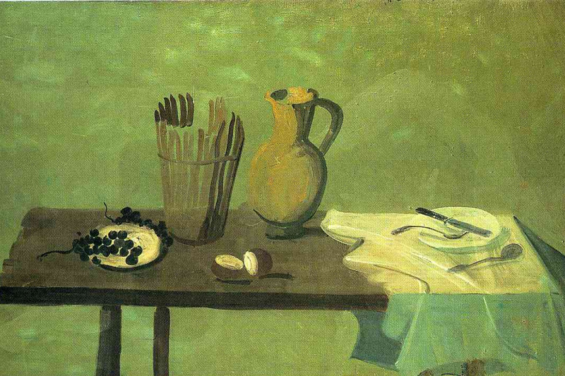 Andre Derain. Still life with white bowl