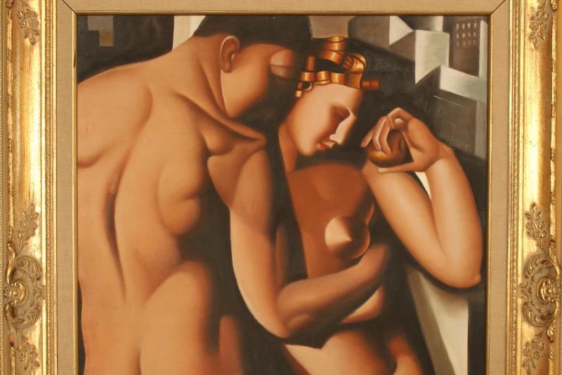 Unknown artist. Adam and Eve (Lempicka)