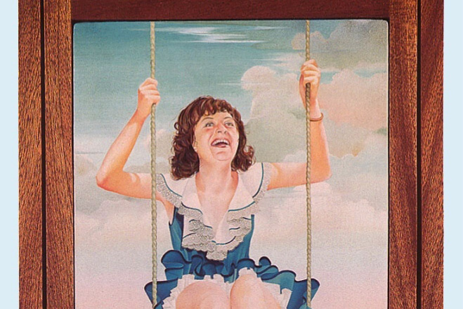 Whale Williams. The girl on the swing