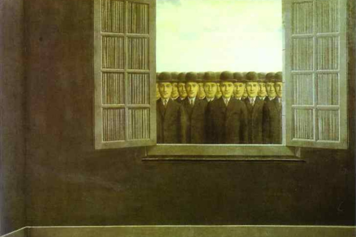 René Magritte. The month of the grape harvest