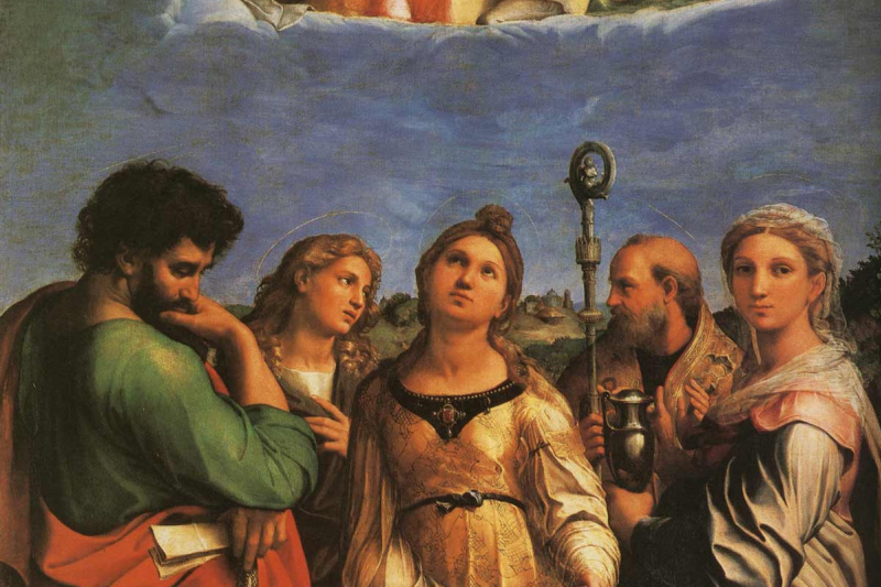 Raphael Sanzio. The Ecstasy Of Saint Cecilia