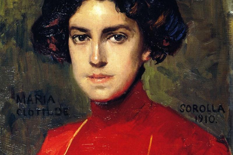 Хоакин Соролья (Соройя). Мария в красной блузе