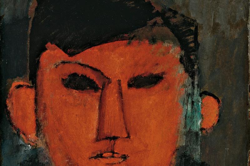 Amedeo Modigliani. Portrait Of Pablo Picasso