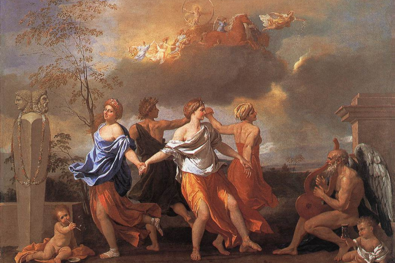 Nicola Poussin. A dance to the music