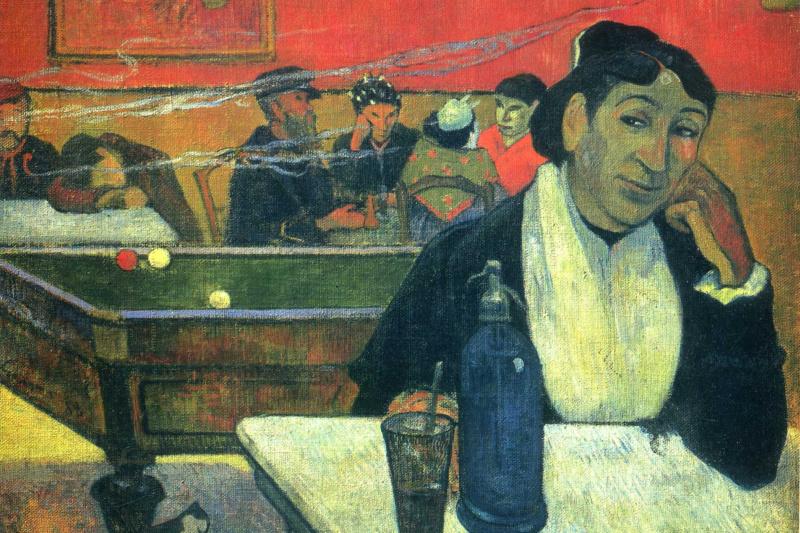 Paul Gauguin. Night Café at Arles