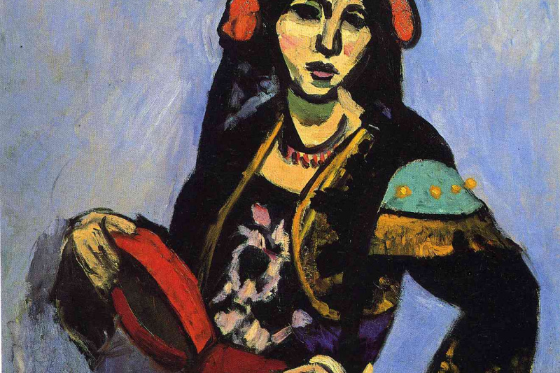Henri Matisse. Spanish Woman with a Tambourine