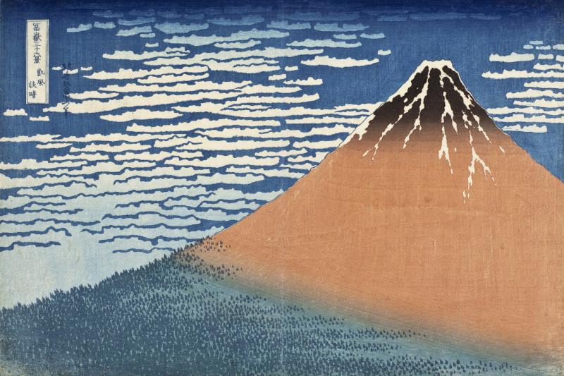 Katsushika Hokusai. South Wind, Clear Dawn
