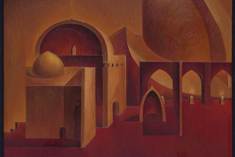 Игорь Юрьевич Евсеев. Architectural mystical composition part 2