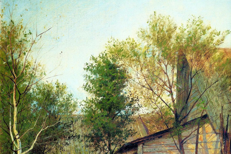 Isaac Levitan. Sunny day