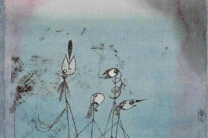 Paul Klee. Tweeting machine