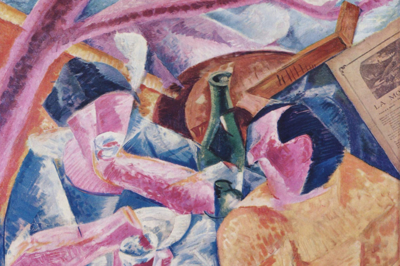 Umberto Boccioni. Under the pergola in Naples