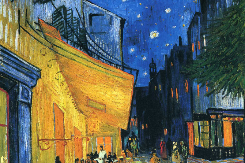 Vincent van Gogh. Night cafe in Arles