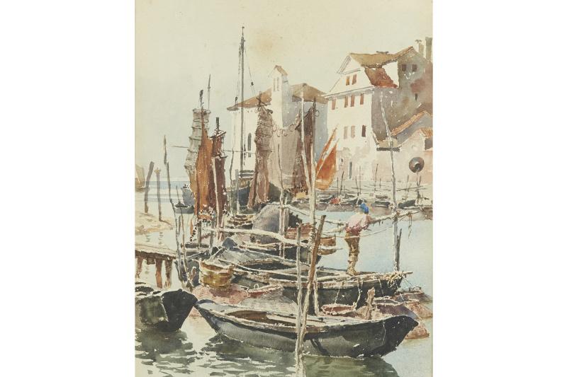 Alexander Nikolaevich Rusov. Venice