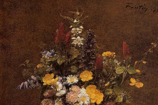 Анри Фантен-Латур. Дикие цветы