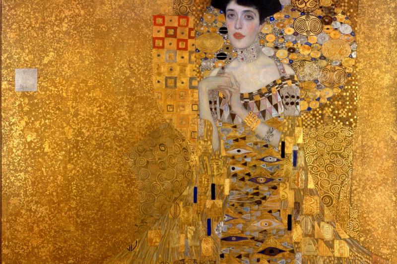 Gustav Klimt. Portrait of Adele Bloch-Bauer I