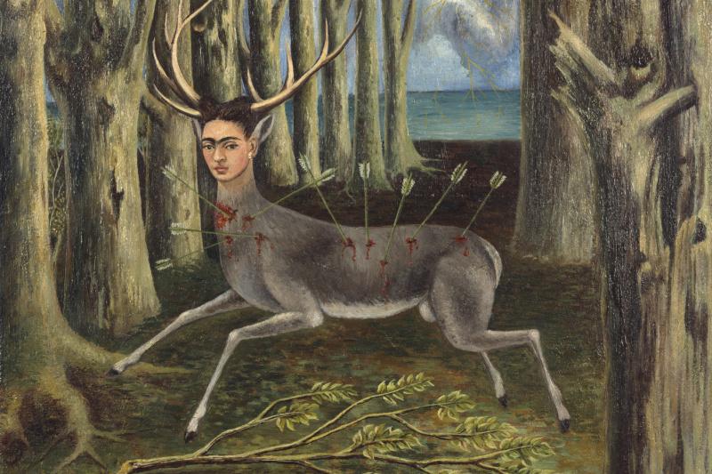 Frida Kahlo. A wounded deer