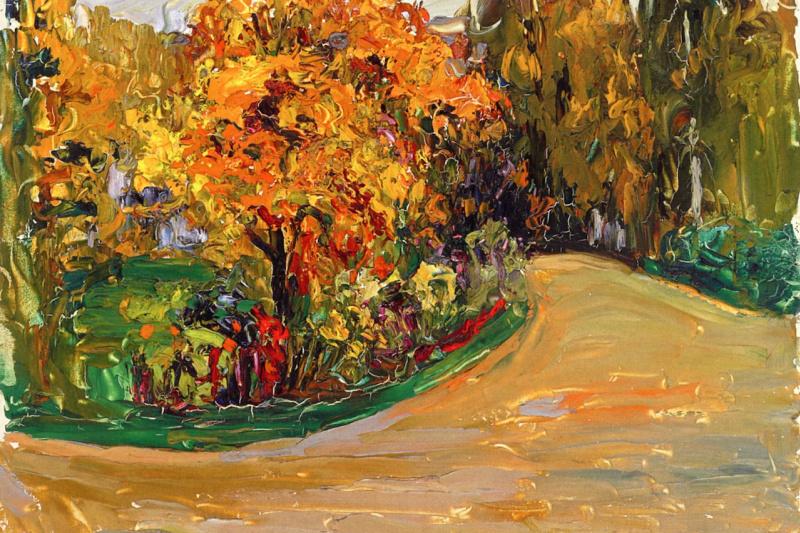 Wassily Kandinsky. Park in the autumn