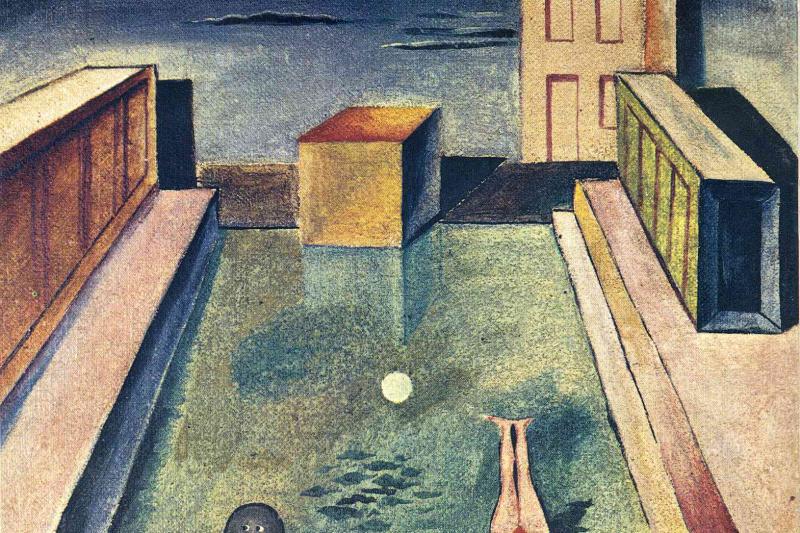 Max Ernst. Immersion in water
