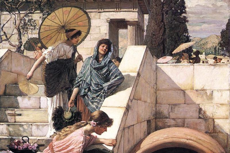 John William Waterhouse. Diogenes