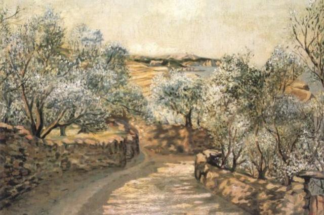 Salvador Dali. The lane to Port Lligat with view of cap Creus