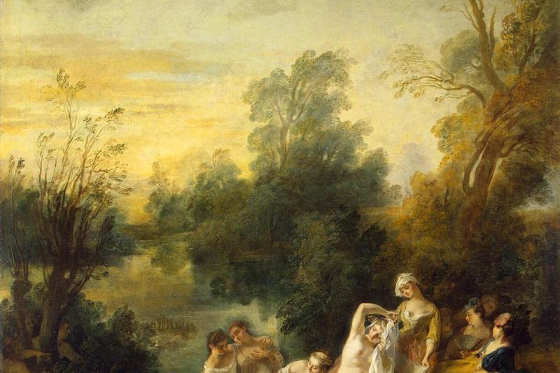 Nicolas Lancret. Bathers