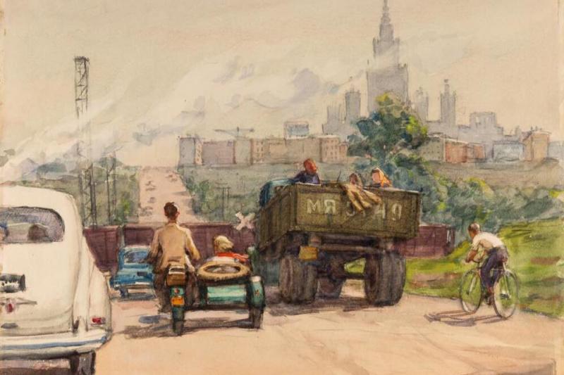 Boim Samsonovich November Solomon (26.11.1899 - 06.04.1978). Road to Moscow