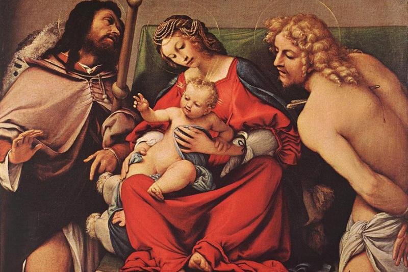 Lorenzo Lotto. Madonna