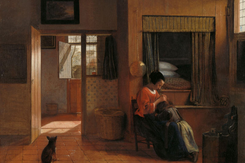 Pieter de Hooch. Parent responsibilities