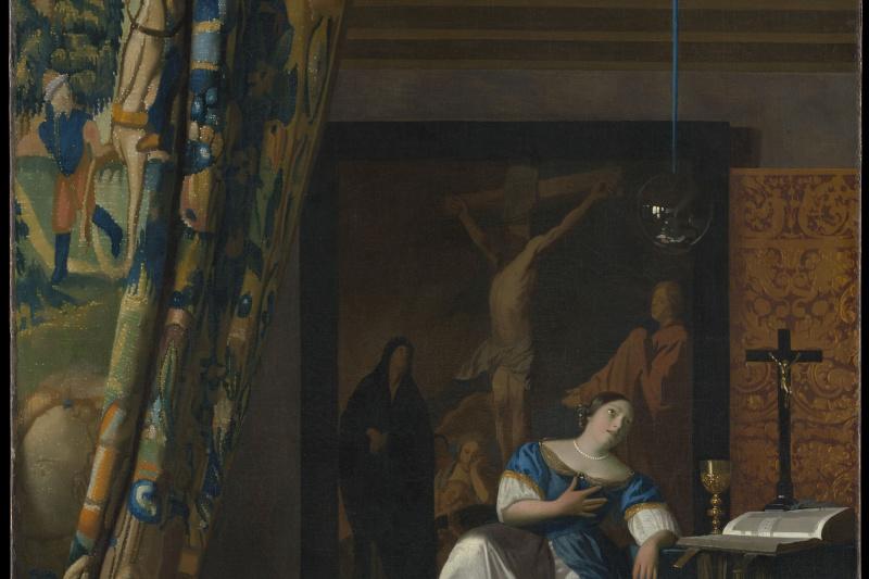 Jan Vermeer. Allegory of the Catholic faith