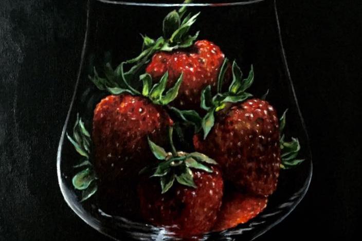 Hope Sosnovikova. A glass of vitamins