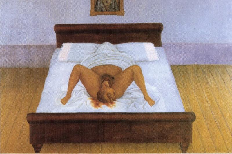 Frida Kahlo. My birth
