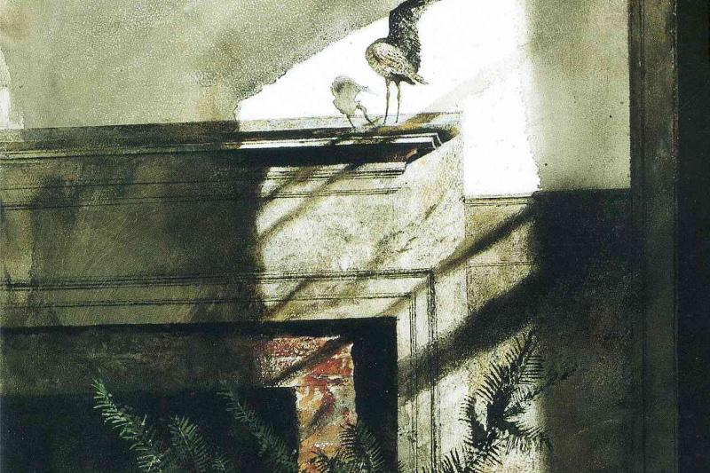 Эндрю Уайет. Птица в доме
