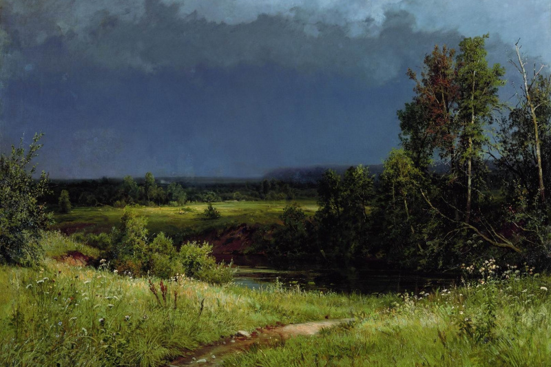 Ivan Ivanovich Shishkin. Before the storm