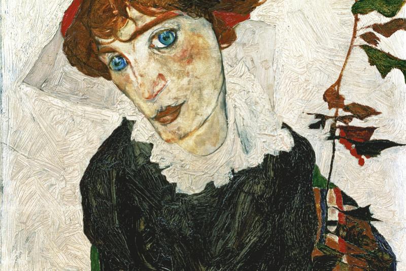 Egon Schiele. Portrait of Wally