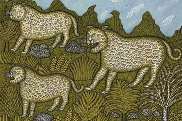 Morris Hirschfield. Leopard family