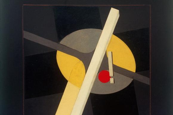 El Lissitzky. Sketch for Proun