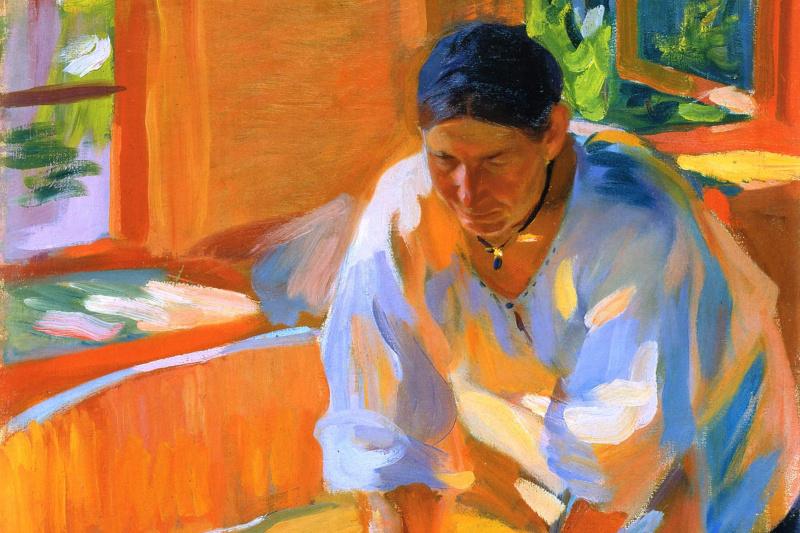 Alexander Murashko. Laundress