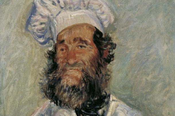 Claude Monet. The Chef (Monsieur Paul)