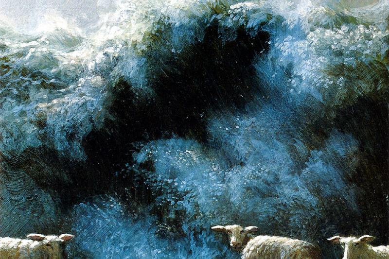 Michael Owl. Big spring wave