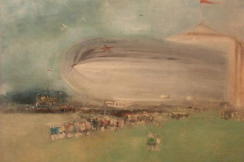 Alexander Arkadevich Labas. The first Soviet airship