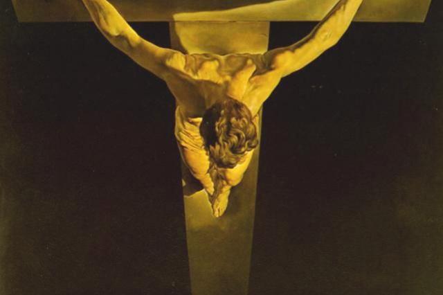 Salvador Dali. Christ Of St. John Of The Cross