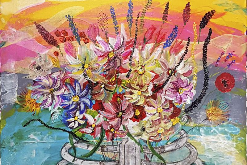 Alexandra Knabengoff. Chest flower chest flowers