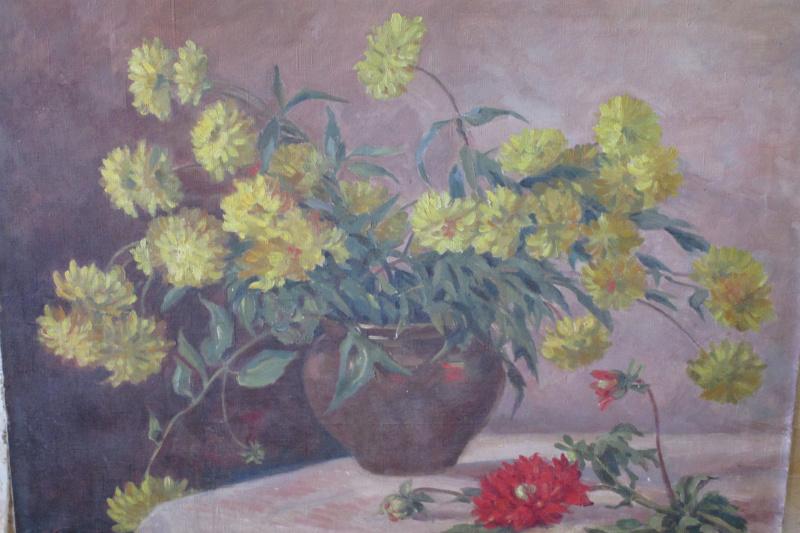 Vera Mykolayivna Glinka. Still-life with flowers