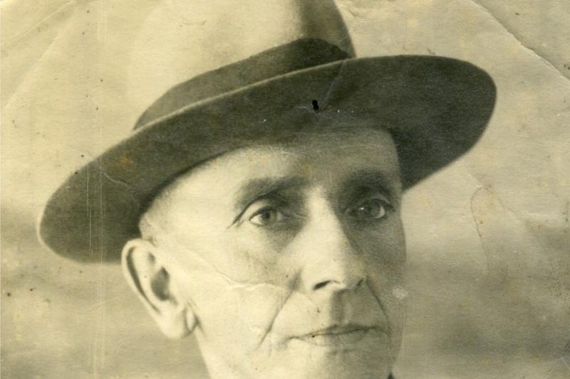 Nikolay Nikolayevich Arshinov. Photo, 1955