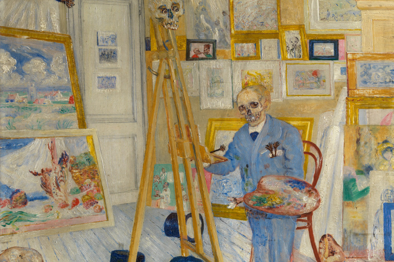 James Ensor. The skeleton painter