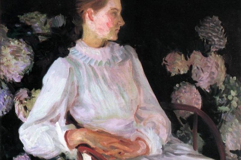 John Singer Sargent. Portrait Of Catherine Chase Shapley