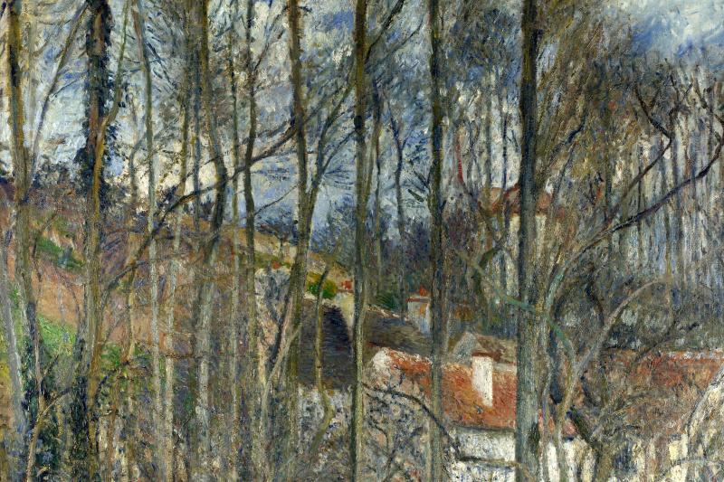 Camille Pissarro. Cote de Boeuf near PONTOISE