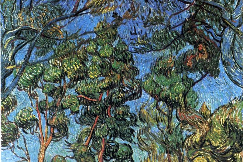 Vincent van Gogh. Hospital in Saint-Remy