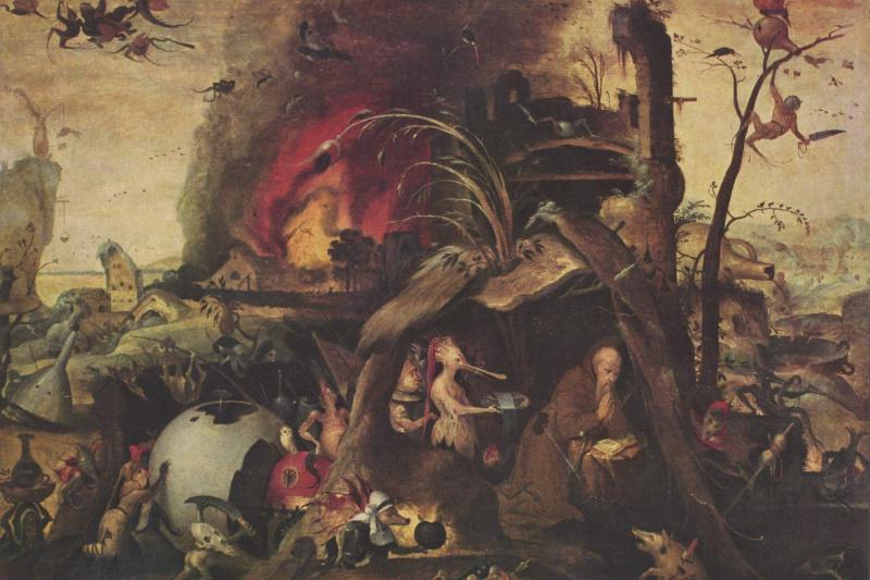Ian Mandane. The temptation of St. Anthony